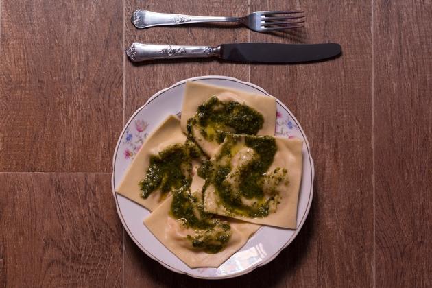 Ravioli al Pesto