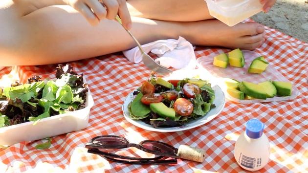 Salada para Piquenique