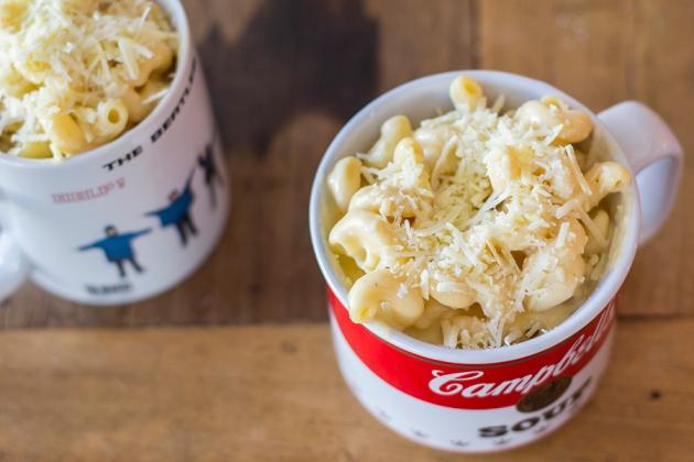 Mac n Cheese (macarrão com queijo)