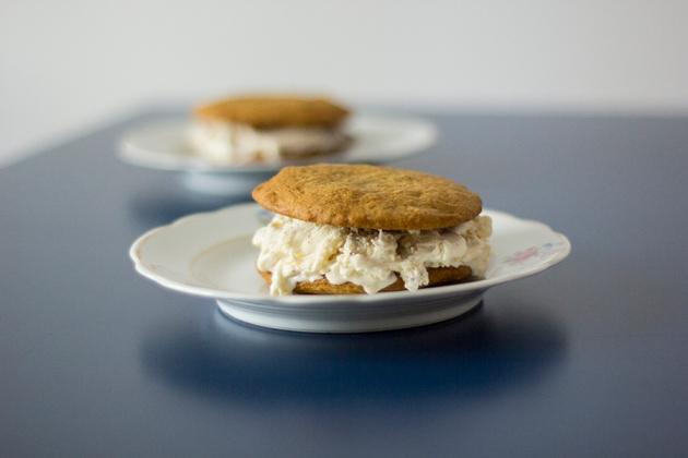 Receita de Sanduíche de Cookie
