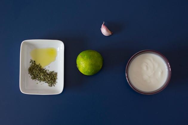 Molho de Iogurte e Limão