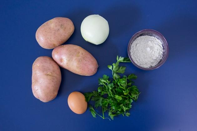 Panquecas de Batatas Receita