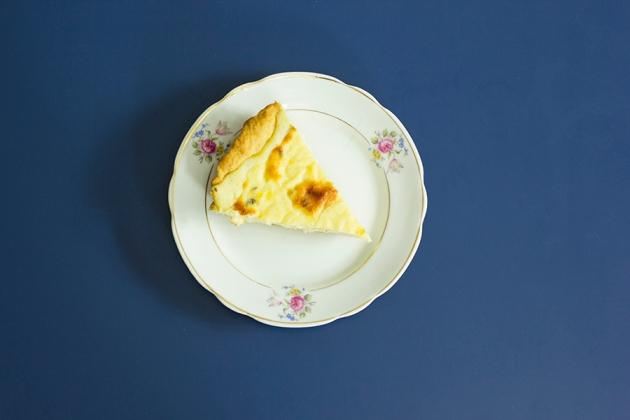 Torta Três Queijos - Receita