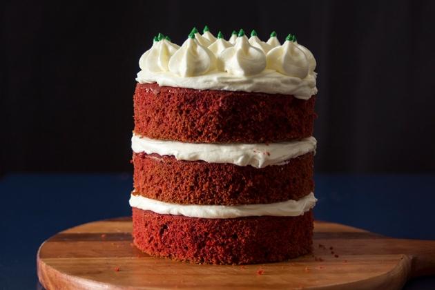 Red Velvet Naked Cake Natalino