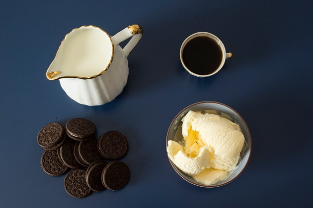 Milkshake Cookies n Cream e café