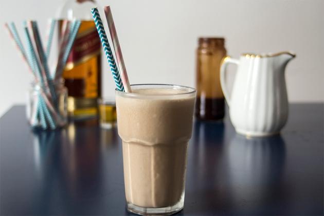 Milkshake de Whisky e Calda de Chocolate