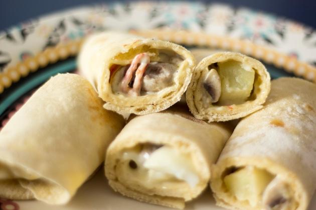 Wrap de Picnic (Como fazer Tortillas)