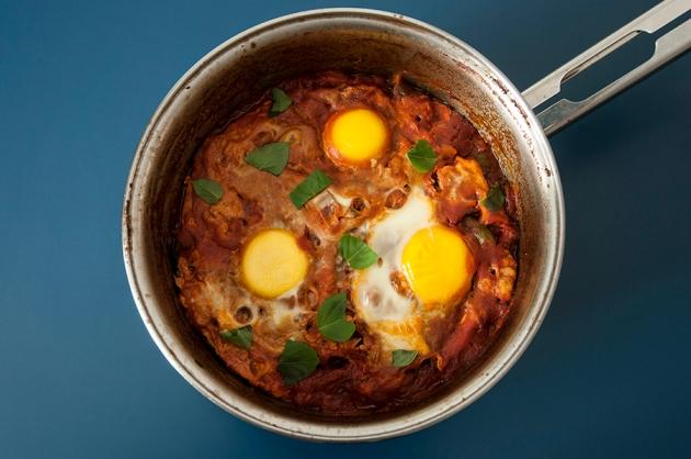 Ovos ao Forno (Baked Eggs)