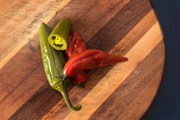 Pimenta Jalapeño e Dedo-de-moça em conserva