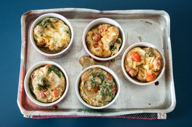 omelete de forno (souffle)